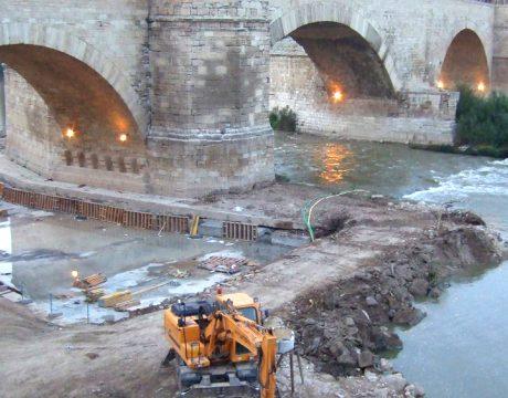 Río Ebro a su paso por Zaragoza - 1