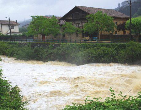 Defensa contra inundaciones en núcleos urbanos del Nervión - 2