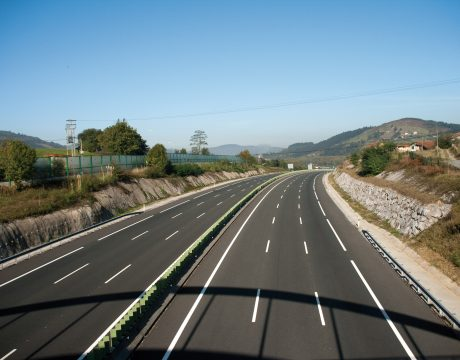 Terceros carriles de la autopista A-8 - 2