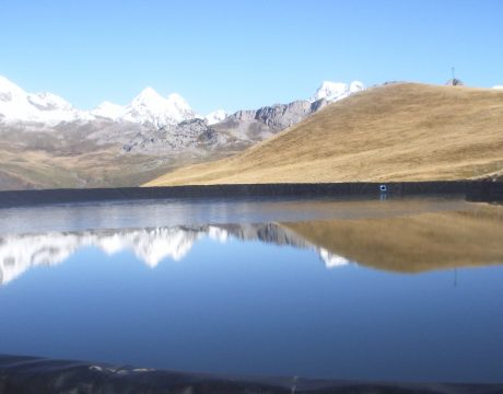 Reservoirs and sewage at the Formigal ski resort - 1