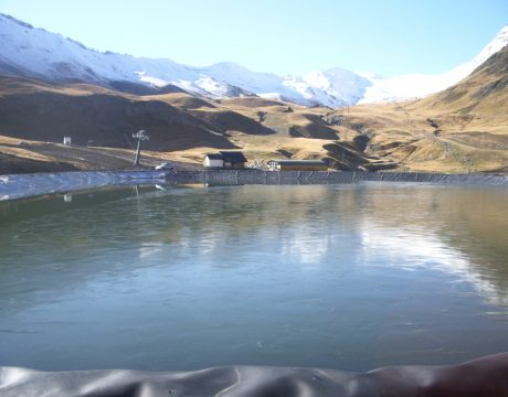 Reservoirs and sewage at the Formigal ski resort - 4