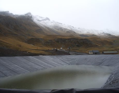 Reservoirs and sewage at the Formigal ski resort - 3
