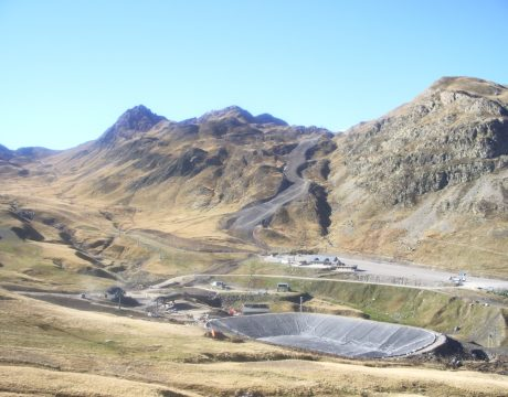 Reservoirs and sewage at the Formigal ski resort - 2