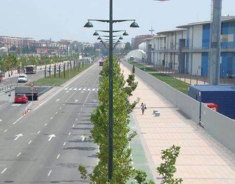 Urbanización Expo Zaragoza 2008 - 2