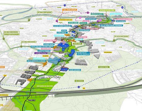 Masterplan de integración del río Huerva - 3