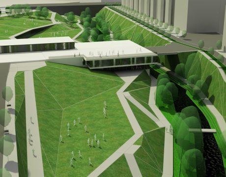 Masterplan de integración del río Huerva - 4