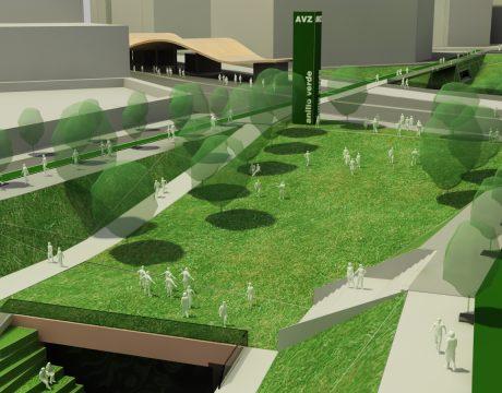 Masterplan de integración del río Huerva - 1