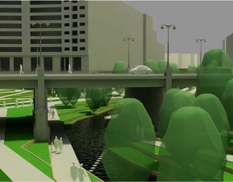 Masterplan de integración del río Huerva - 2