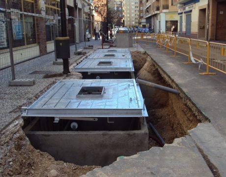 Contenedores enterrados en el barrio de San Jose - 2