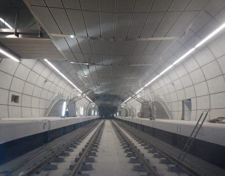 Instalaciones electromecánicas de la línea 3 del metro de Bilbao - 1