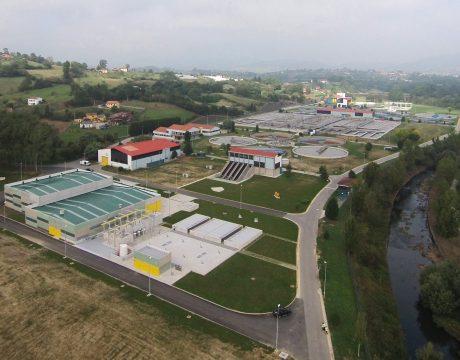 EDARs de Oviedo. San Claudio y Villaperez - 1