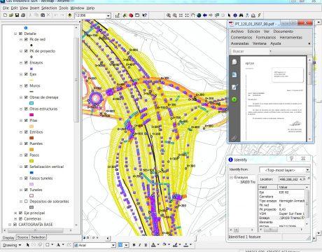 GIS de control de calidad de la Variante Sur Metropolitana - 1