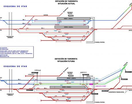 Estaciones de Tardienta y Huesca - 3