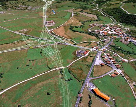 Carretera N-135, Túneles de Erro y Mezkiritz - 3
