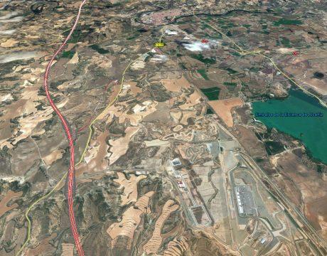 Autovía A-22 Lleida–Huesca, Estudio Informativo - 3