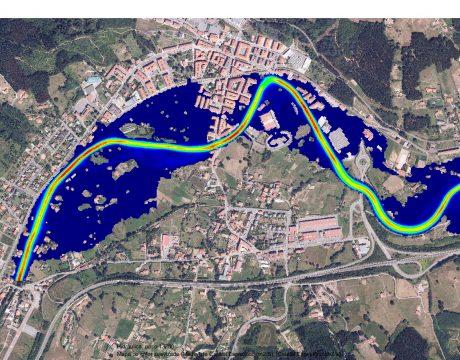 Defensa contra inundaciones del Río Kadagua en Zalla. - 1