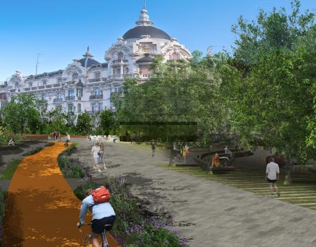 Renovación de Plaza España en Madrid - 3