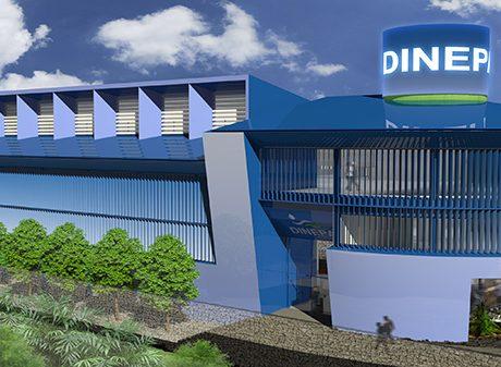 Oficinas de Dinepa and Orepas en Haití - 1