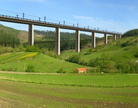 """Línea de Alta Velocidad Y-Vasca. Tramo: Elorrio-Atxondo"""" - 3"""