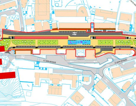 Reordenación urbana del entorno de la estación de Elgoibar. - 1