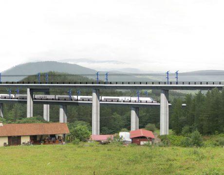 """Línea de Alta Velocidad Y-Vasca. Tramo: Elorrio-Atxondo"""" - 2"""