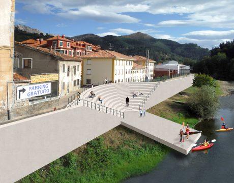 Defence against flooding in Arriondas - 1